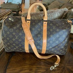 Louis Vuitton Keepall 45 Bandouliere with Strap